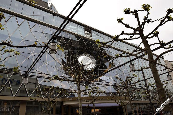 Франкфурт на Майне - достопримечательности - фасад торгового центра - рассказы о путешествиях - Frankfurt am Main MyZeil