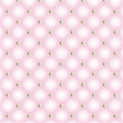 Papel de Parede Matelasse e Pérola Rosa Escuro