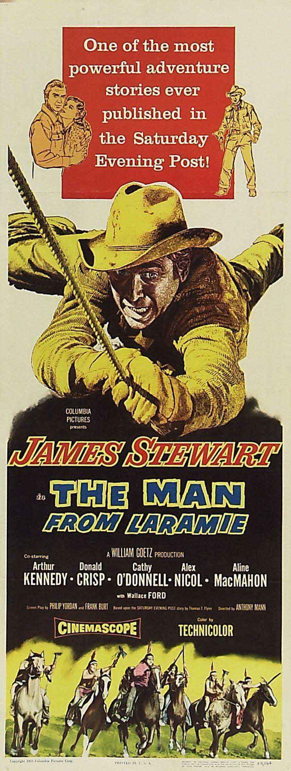 "The Man From Laramie Film | 1955's ""The Man From Laramie"""