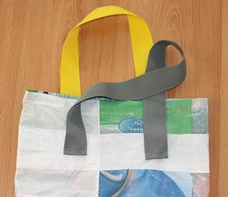Masni Dekoráció: DIY olvasztott műanyag táska / DIY smelted plastic shopping bag
