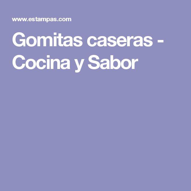 Gomitas caseras - Cocina y Sabor
