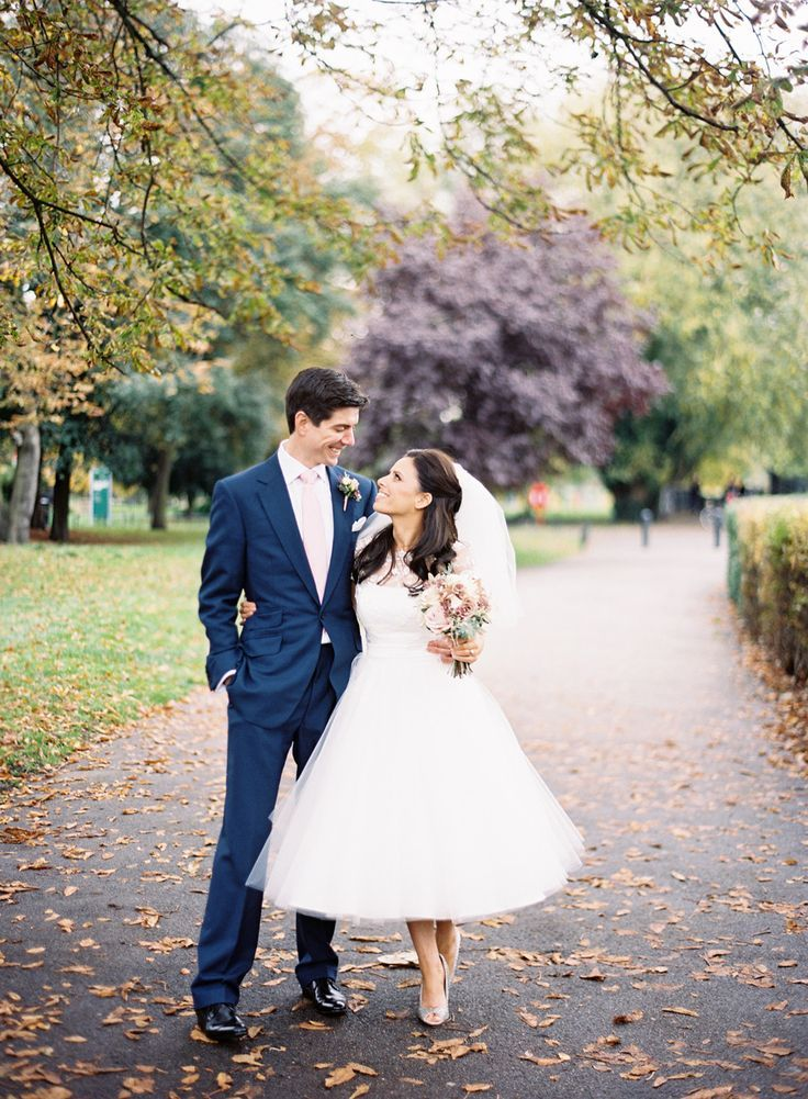 tea length wedding gown : photography  - Jodie Chapman