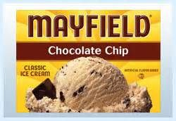 mayfield ice cream chocolate chip - Bing Images Had it not been for mint chocolate chip, this would be my favorite.