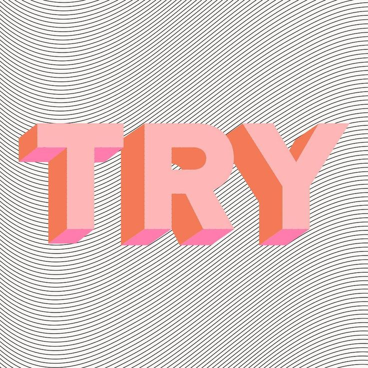 Try. Try again.