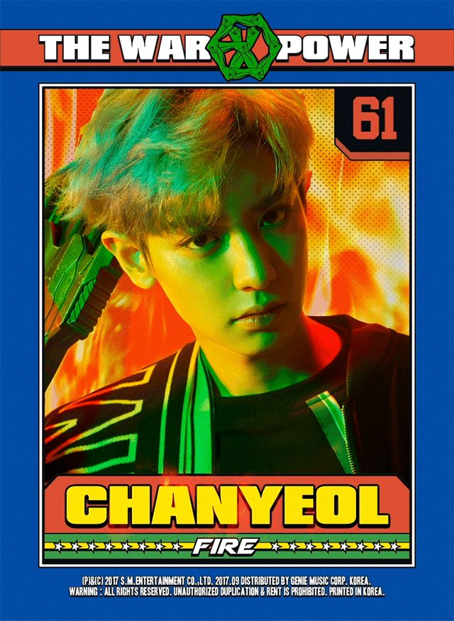 chanyeol the war: the power of music