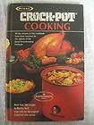 Vintage 1975 RIVAL CROCK POT COOKBOOK Recipes Slow Cooker Book Hardback Cooking