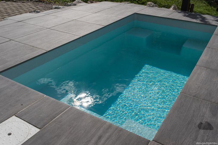 25 beste idee n over kleine tuin zwembaden op pinterest kleine zwembaden dompelbad en spoel - Zwembad entourage ...