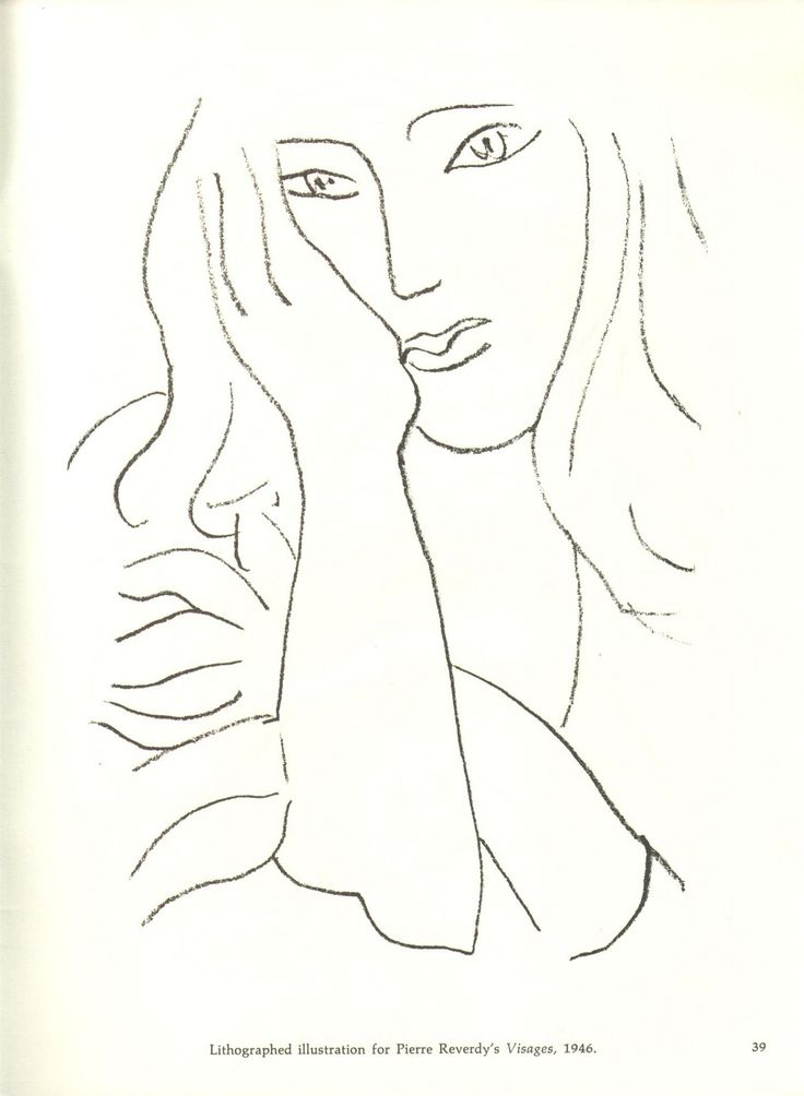 Image result for matisse line drawings