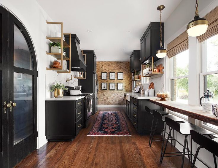 "62.9k Likes, 365 Comments - Magnolia (@magnolia) on Instagram: ""Design tip from Jo: Combining traditional cabinetry with a few sets of open shelving gives a modern…"""