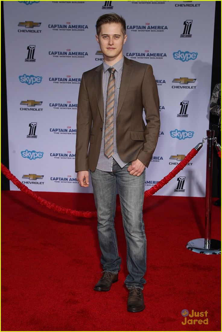 Lucas Grabeel at Captain America's Premiere!