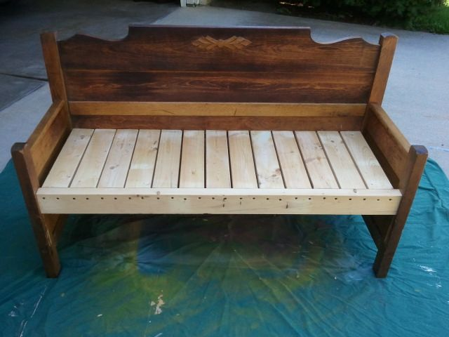 62 Best Images About Benches From Beds On Pinterest Old