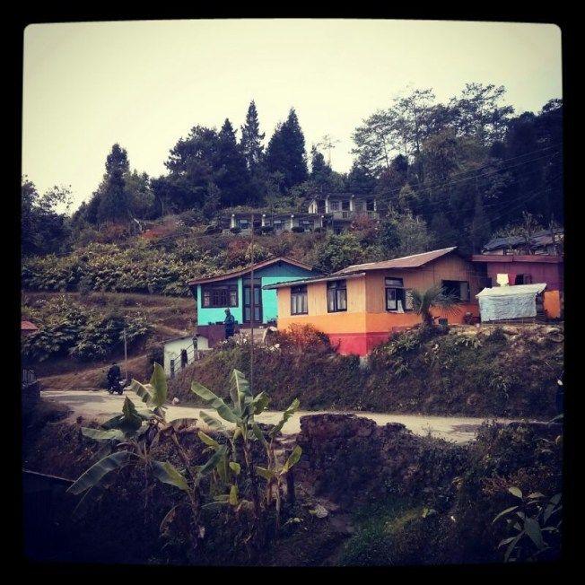 Takdah vilage near Darjeeling : Smita Bhattacharya  https://theblueberrytrails.wordpress.com/tag/takdah/
