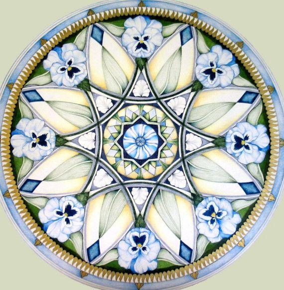 Poppy Mandala by hollizollinger