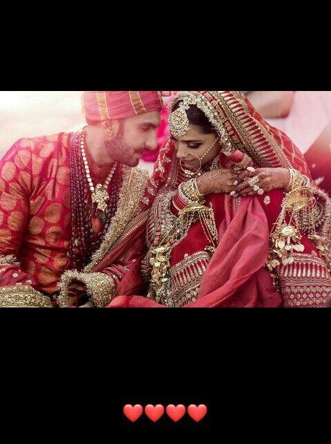 Happy Marriage Life Deepveer Deepu In 2019 Pinterest
