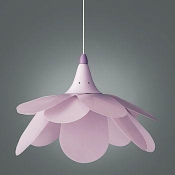 Hanglamp Paars/roze Bloem