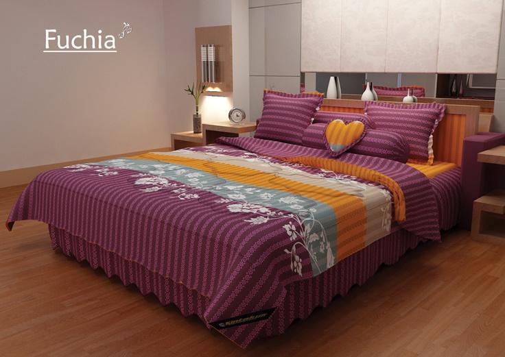Fuchia Bed Cover
