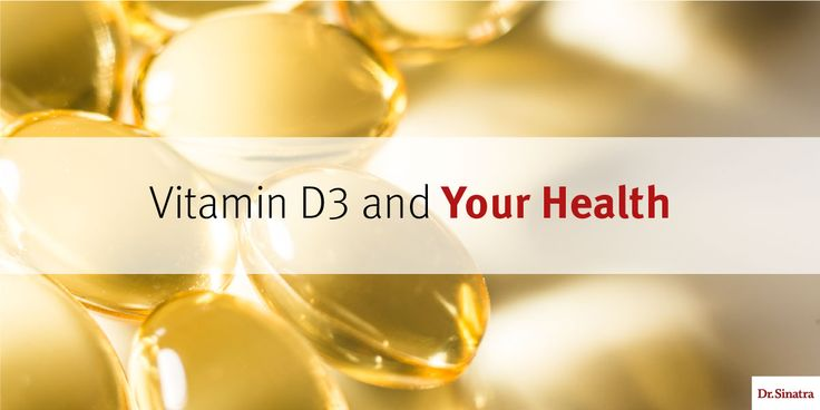 Vitamin D3 and Your Health | Dr. Sinatra... The latest study, which was presented at the American College of Cardiology 65th Annual Scientific Session & Expo, concludes that daily supplementation with vitamin D3 may improve heart function in patients with chronic heart failure....    (1) 1,000-3,000 IU if you are healthy. (2)      5,000-10,000 IU taken for three months if you have low levels of vitamin D, then recheck your levels.