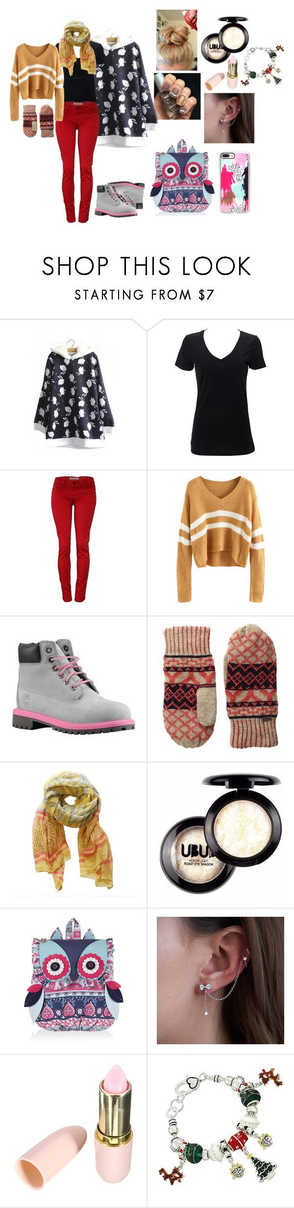 Don`t Catch Cold,Sweetie! by kwonn on Polyvore featuring WithChic, Simplex Apparel, Monsoon, DOSE of ROSE, Casetify, Pistil and Timberland