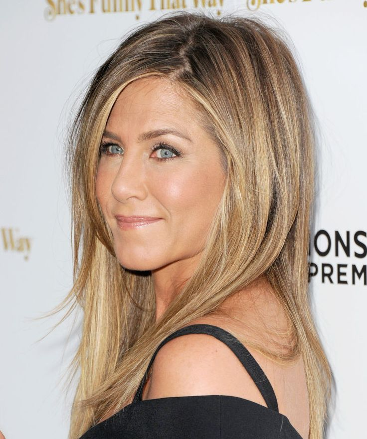 """Why Jennifer Aniston Is Totally """"Basic"""" About Her Hair"""