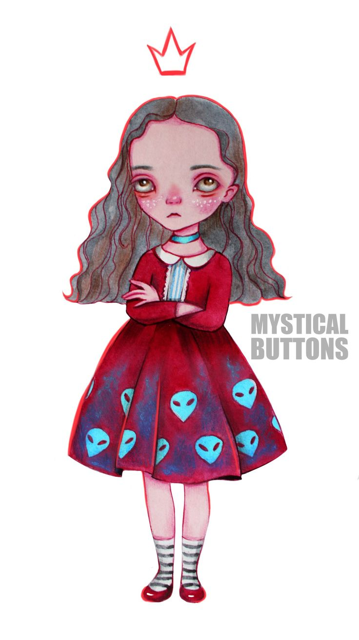 Mystical Buttons ART