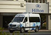 Hilton North Raleigh/Midtown Hotel, NC - Property Van