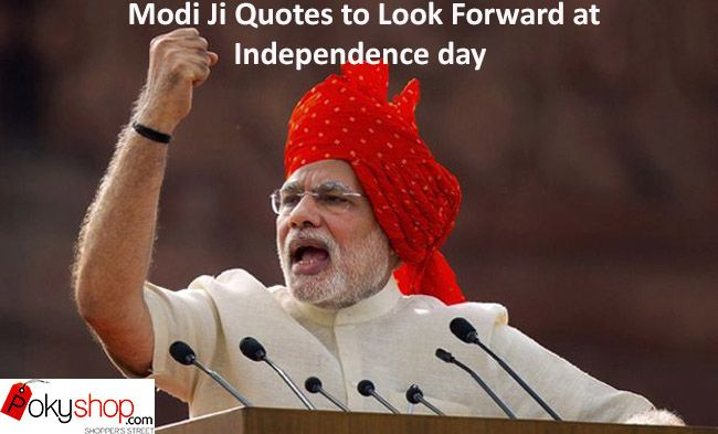 On 15 August we are going to celebrate our 70th independence day of our Nation and one of the most important thing of independence day is Prime Minister speech, so we thought to share a some of the quotes on which Modi Ji must speak. #Pokyshop #IndependenceDay #PM #Speech