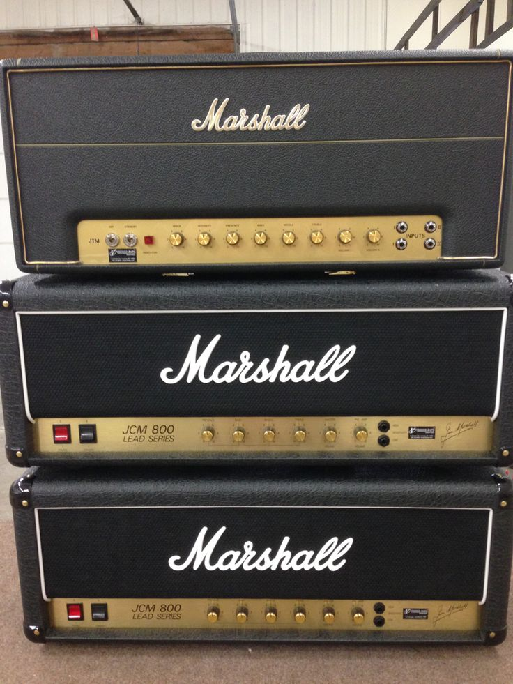 Joe Perry's Voodoo Modified Amps! (2) Marshall JCM800 2203x's w/Joe Perry Custom Mod & (1) Marshall 2245-THW Hand Wired w/Custom Joe Perry Mod