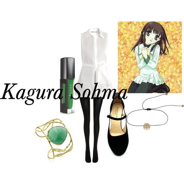 """""""Kagura Sohma- Fruits Basket"""" by animedowntherunway on ...  """"Kagura So..."""