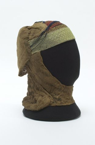 Tocado de doña Teresa Gil, desde 1307 SE ENCUENTRA en el Museo del Traje, Madrid