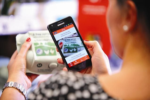 Shoppers will be able to use their smartphones to scan products in stores, and then pay at self-service tills using cash or credit cards.