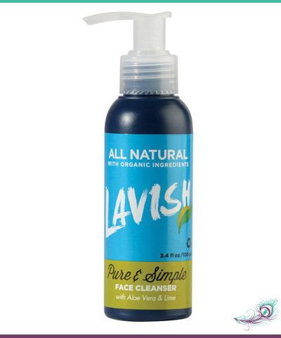 Lavish Pure & Simple Face Cleanser – R110 www.absolute-simplicity.co.za