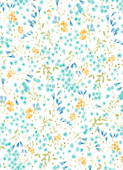 VIKKI CHU: Practicing some more floral patterns.