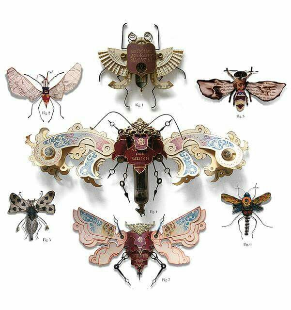 """""""Litter Bugs"""" by Mark Oliver.  Incredibly imaginative and beautifully made . . ."""