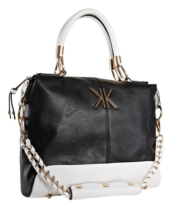Kardashian Kollection Handbag From Strand Bags Equip Monochrome Handbagobsession Pinterest Handbags And
