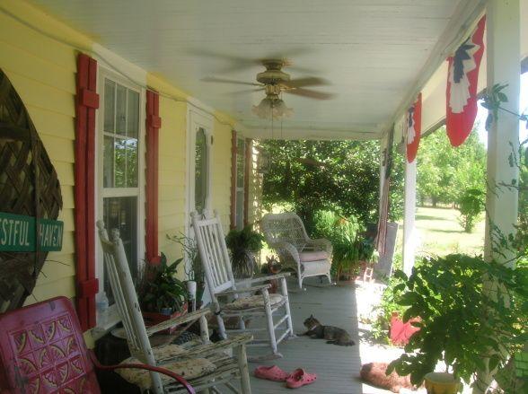 Country Porch Porches3 Pinterest