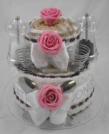 UNIQUE TOWEL CAKE IDEAS | ... At Pamper Cake Unique Gift Ideas Towel Cakes Unusual Cake on Pinterest