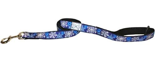 RC Pet Products Dog Leash, Let it Snow, 1Inch by 6Feet