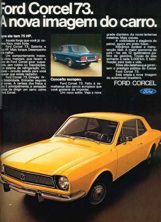 Ford Corcel 1973 - Brazil