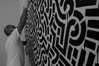 "Originales ""grafitis"" de Aaron de la Cruz | La Jirafa Rosada"