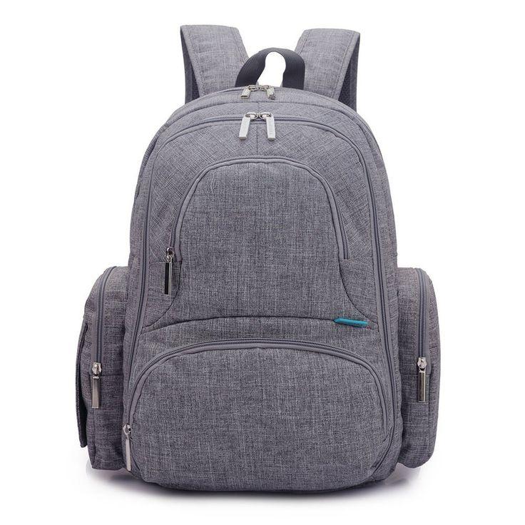 Waterproof Outdoor Baby Diaper Changing Backpack Mummy Bag Stroller Hanging Bag #Unbranded #Backpack