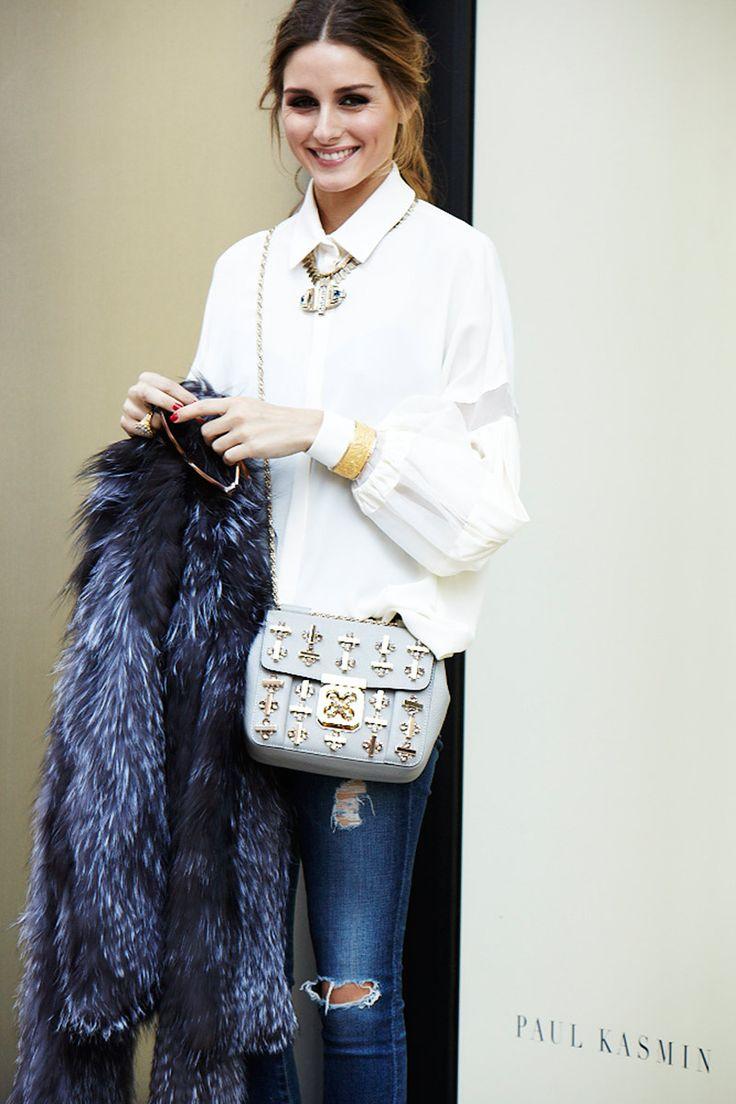 Los 7días/ 7looks de Olivia Palermo: Abrigo vintage y bolso de Chloé