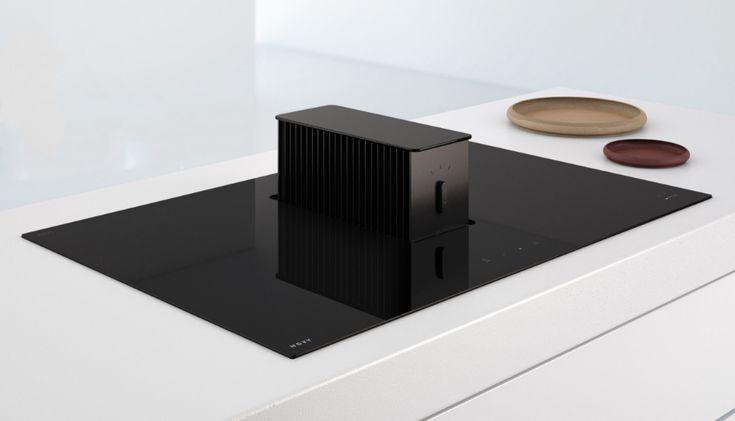 De Novy One kookplaat is een revolutionaire kookplaat en dampkap in één, wat zorgt voor architecturale planningsruimte in de keuken.