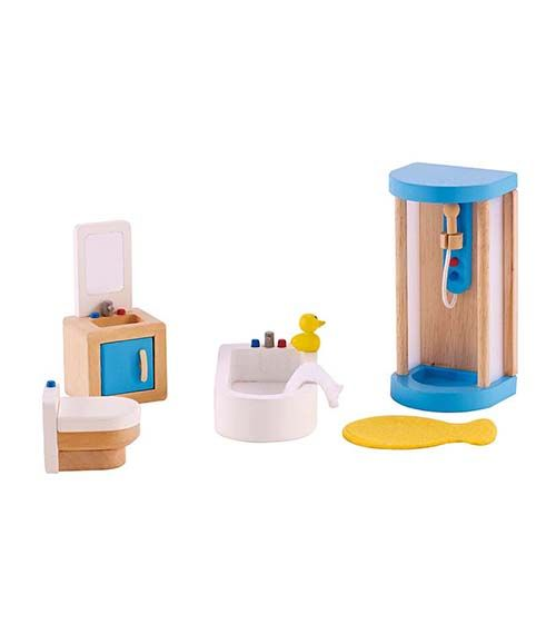 Family Bathroom From Hape from The Wooden Toybox