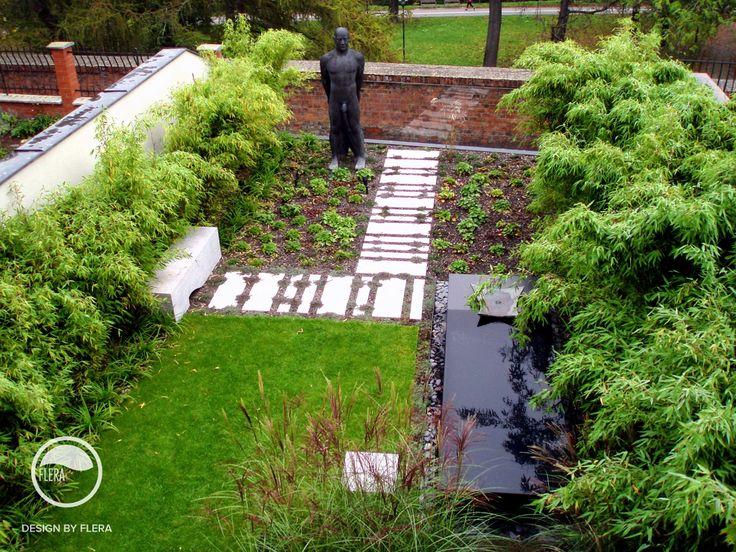 #landscape #architecture #garden #water #feature #sculpture #path