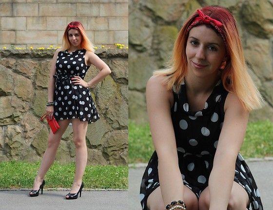 Bata high heels by Milica Venoma #Batashoes #shoes #Bata #black #white #europe #retro #pinup #stylish