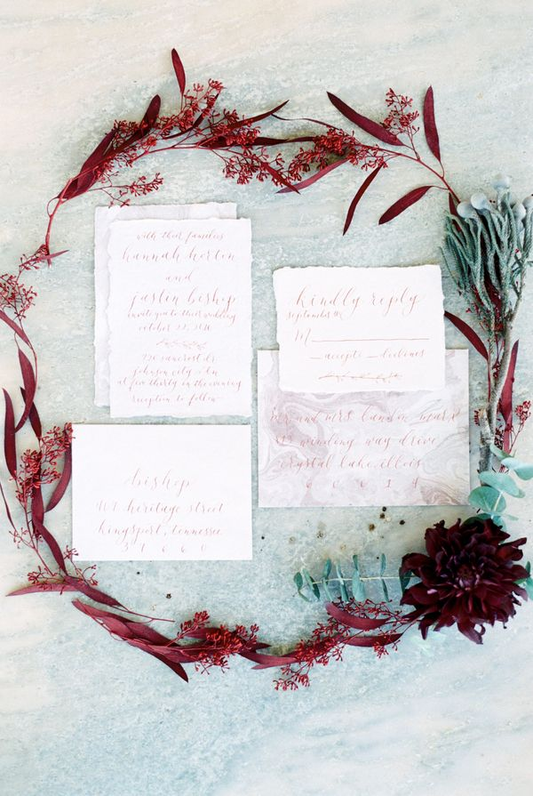 Charming Backyard Elopement in Rich Tones and Copper