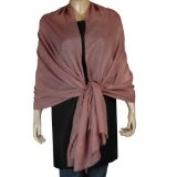 Indian Scarf Pure Pashmina Womens Accessory 80 x 28 inches (Apparel)By ShalinIndia