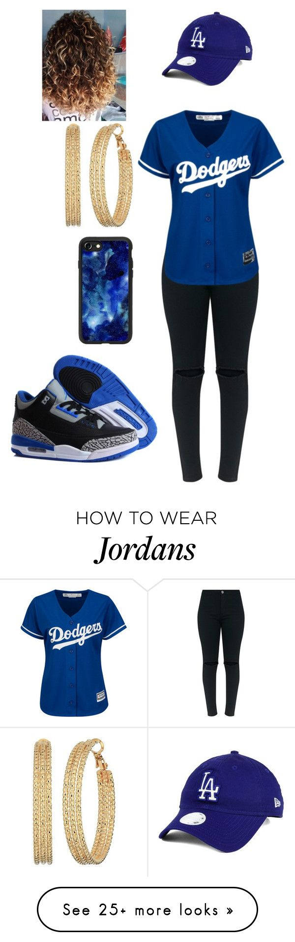 """""""Baseball"""" by jazzy-graham on Polyvore featuring New Era, NIKE, Casetify and GUESS"""