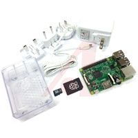 Raspberry Pi - RASPBERRY PI 2 STARTER KIT - Raspberry Pi 2 with NOOBS v1.4 Loaded SD Card,  Power Supply,  and Clear Enclosure