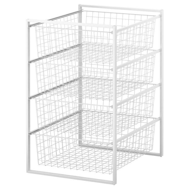 1000  ideas about wire basket storage on pinterest